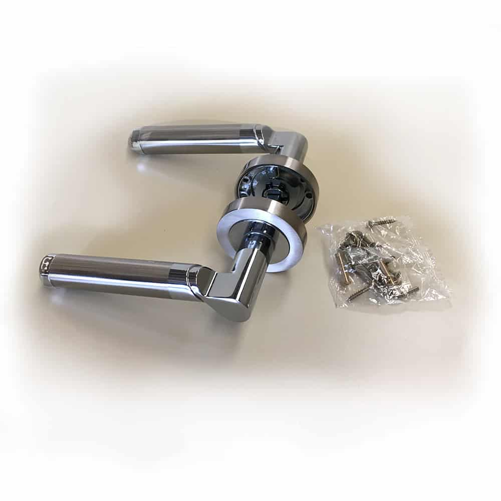 Avoca Premium Zinc Door handle sets